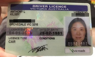 buy Australian driver license online cheap