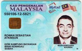 Buy Malaysian identity card online with bitcoin