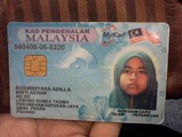 Buy fake Malaysian ID card for sale