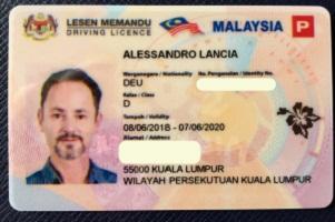Buy Fake driving license Malaysia near me