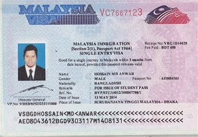 Apply for Malaysia visa online