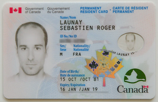Buy real Permanent Residence card online