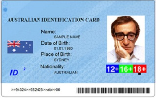 Real Australian ID card for sale with bitcoin