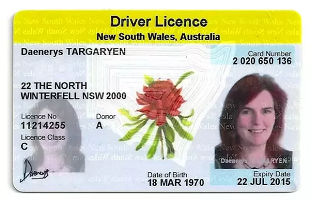 Buy fake Australia driving license