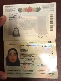 Buy fake Canadian passport online