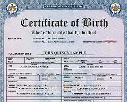 Buy birth certificate online