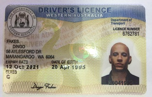 Buy fake Australia driving license