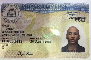 Buy fake Australia driving license online