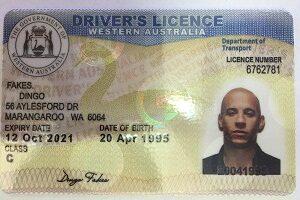 Buy fake Australia driving license online