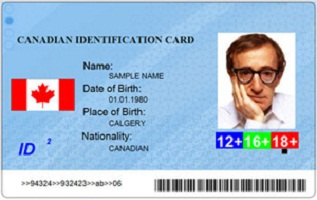 Buy fake Canadian id card
