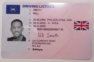 Buy fake UK driving license online