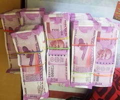 Counterfeit Indian rupee for sale