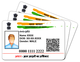 Real Aadhaar card for sale