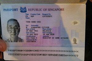 Real Singaporean passport for sale