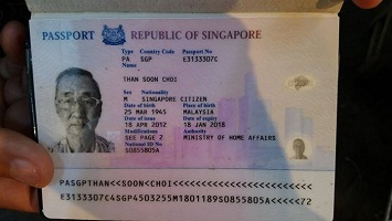 Real Singaporean passport for sale