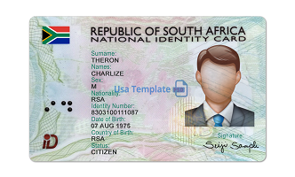 Buy Real South Africa Id card online