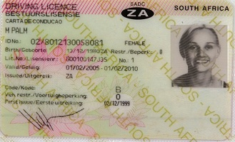 Buy Fake South Africa driving license online website