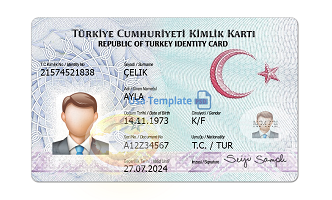 Real Turkish Id card for sale
