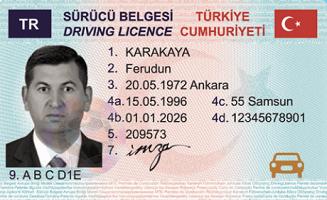 Buy fake Turkish drivers license online