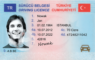 Buy fake Turkish drivers license online with bitcoin