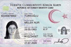 Buy fake Turkish id card online