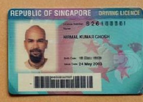 Real Singaporean drivers license for sale