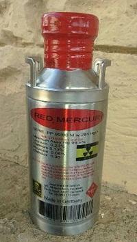 Red liquid mercury for sale in Qatar