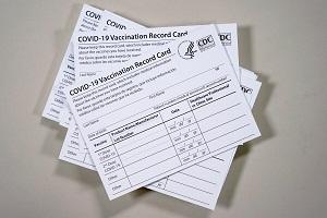 Covid-19 vaccine record cards for sale cheap