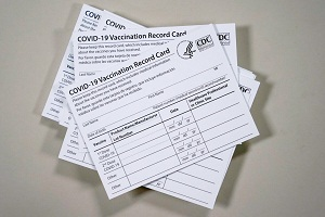 Covid-19 Vaccination Card for sale